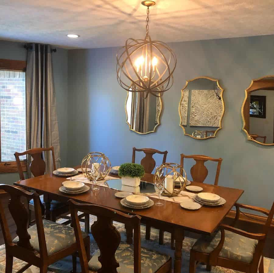 Traditional dining room lighting ideas turquoisebydesign