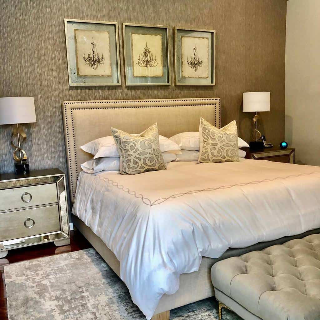 neutral vintage bedroom ideas