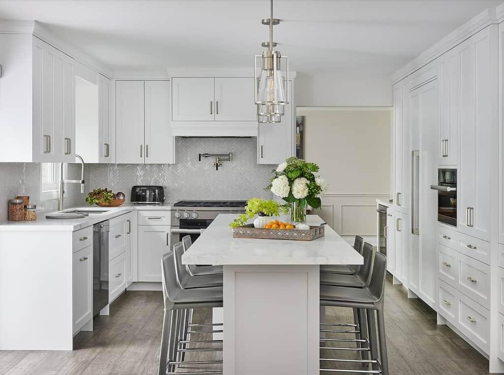 Transitional Home Design Fine Finishes Design