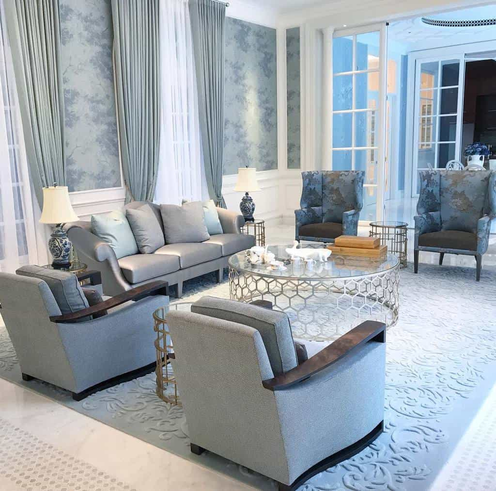 Transitional Interior Design Towstudios