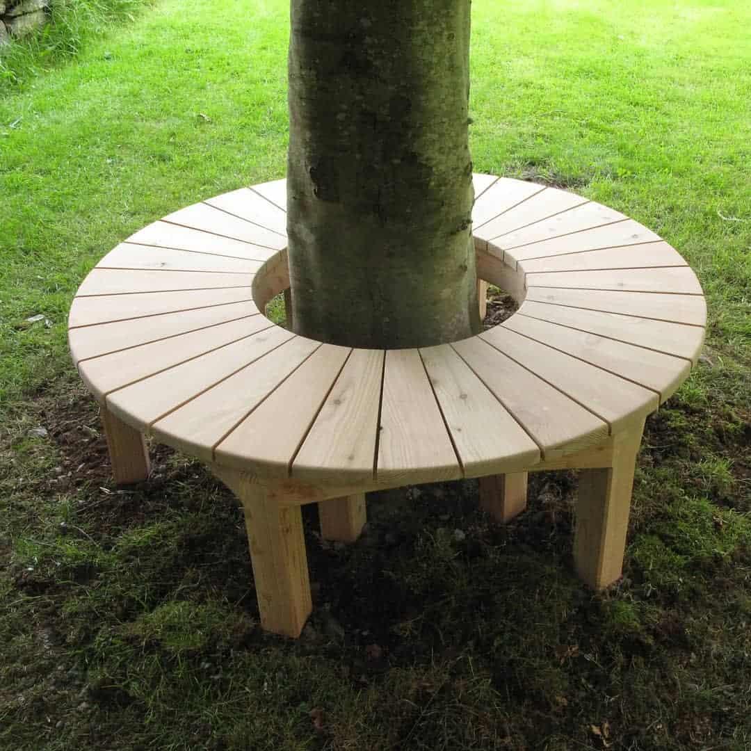 Tree Bench Garden Bench Ideas -dancollisterfurniture
