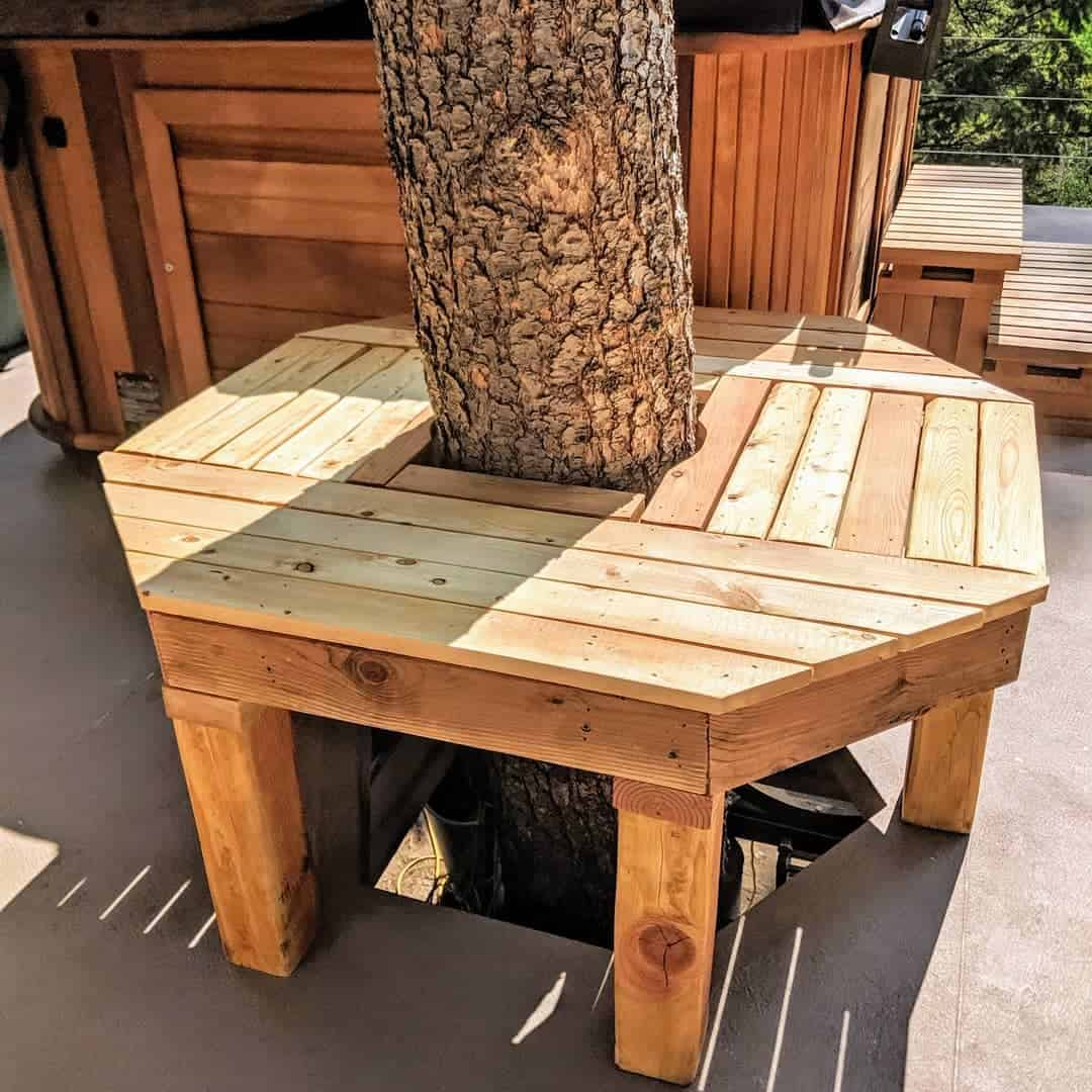Tree Bench Garden Bench Ideas -mthavenwood