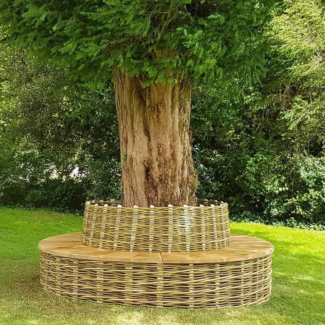 Tree Bench Garden Bench Ideas -thesticksmith