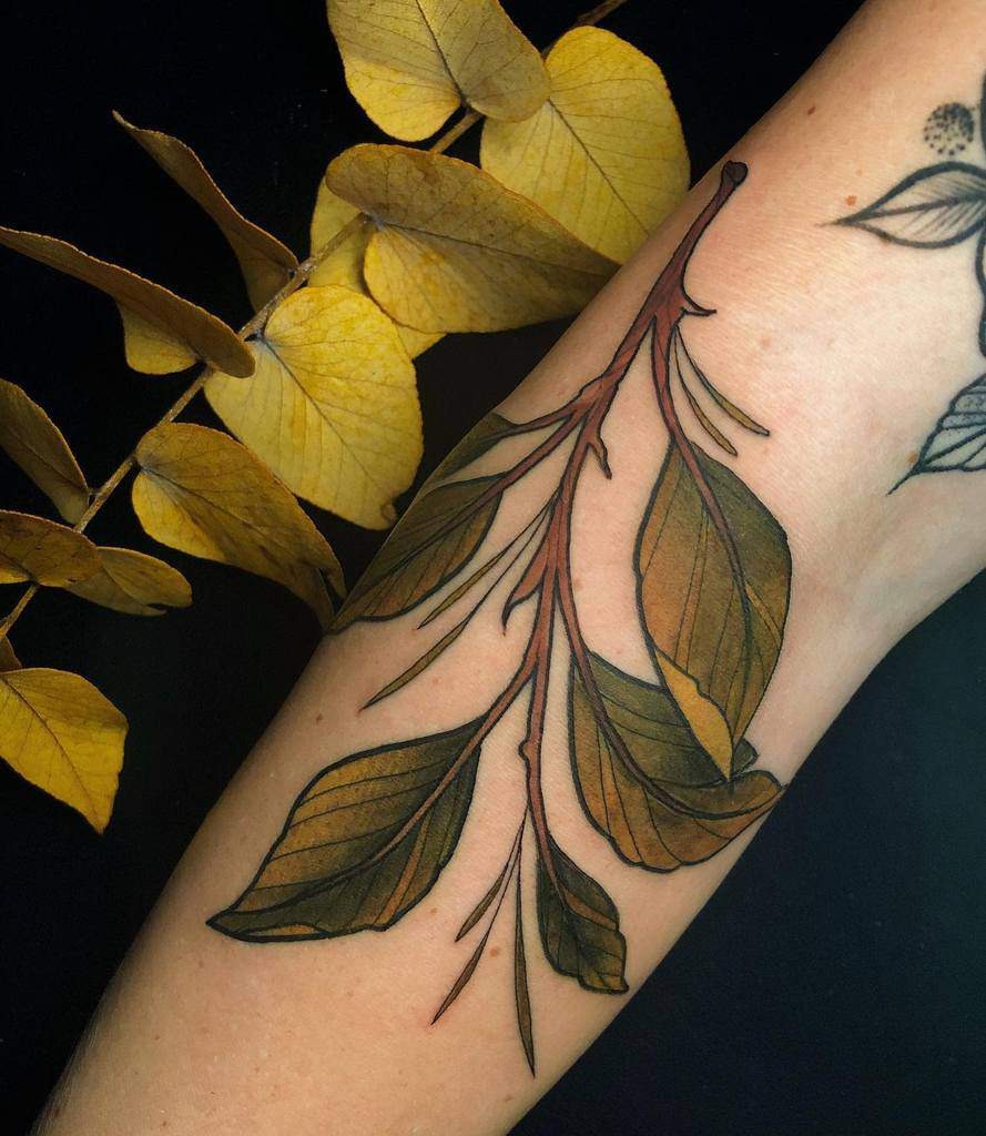 Tree Branch Forearm Tattoo jentonic