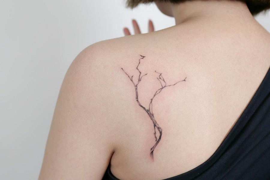 Top 57+ Best Tree Branch Tattoo Ideas – [2021 Inspiration Guide]