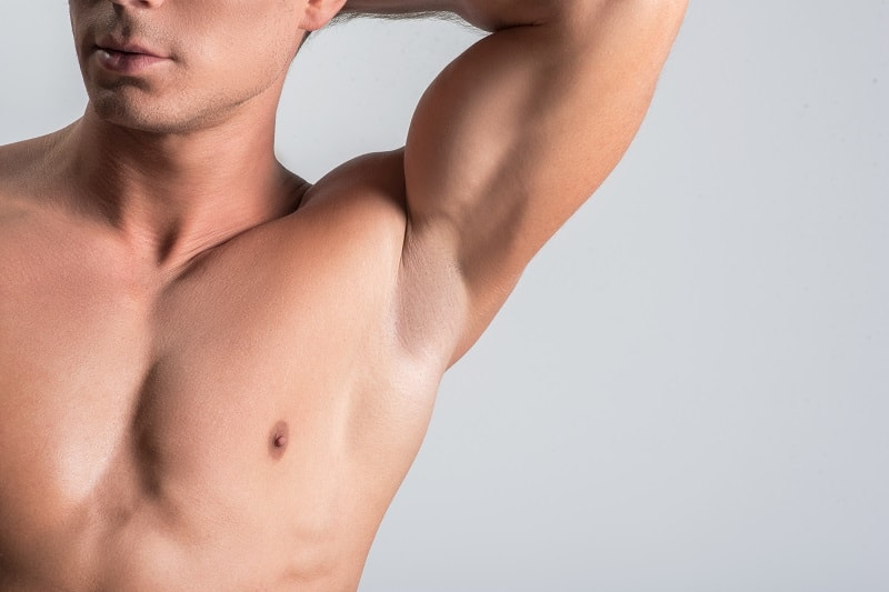 Pleasant,Nude,Man,Is,Showing,His,Body,Parts