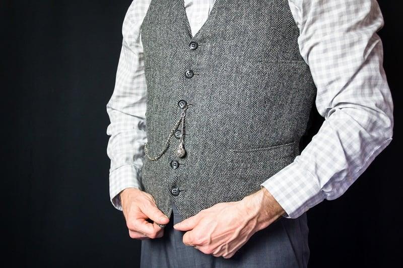 Tweed-Vests