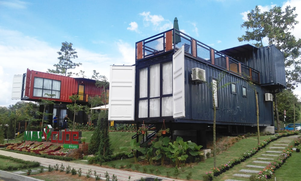 Two Story Shipping Container Home