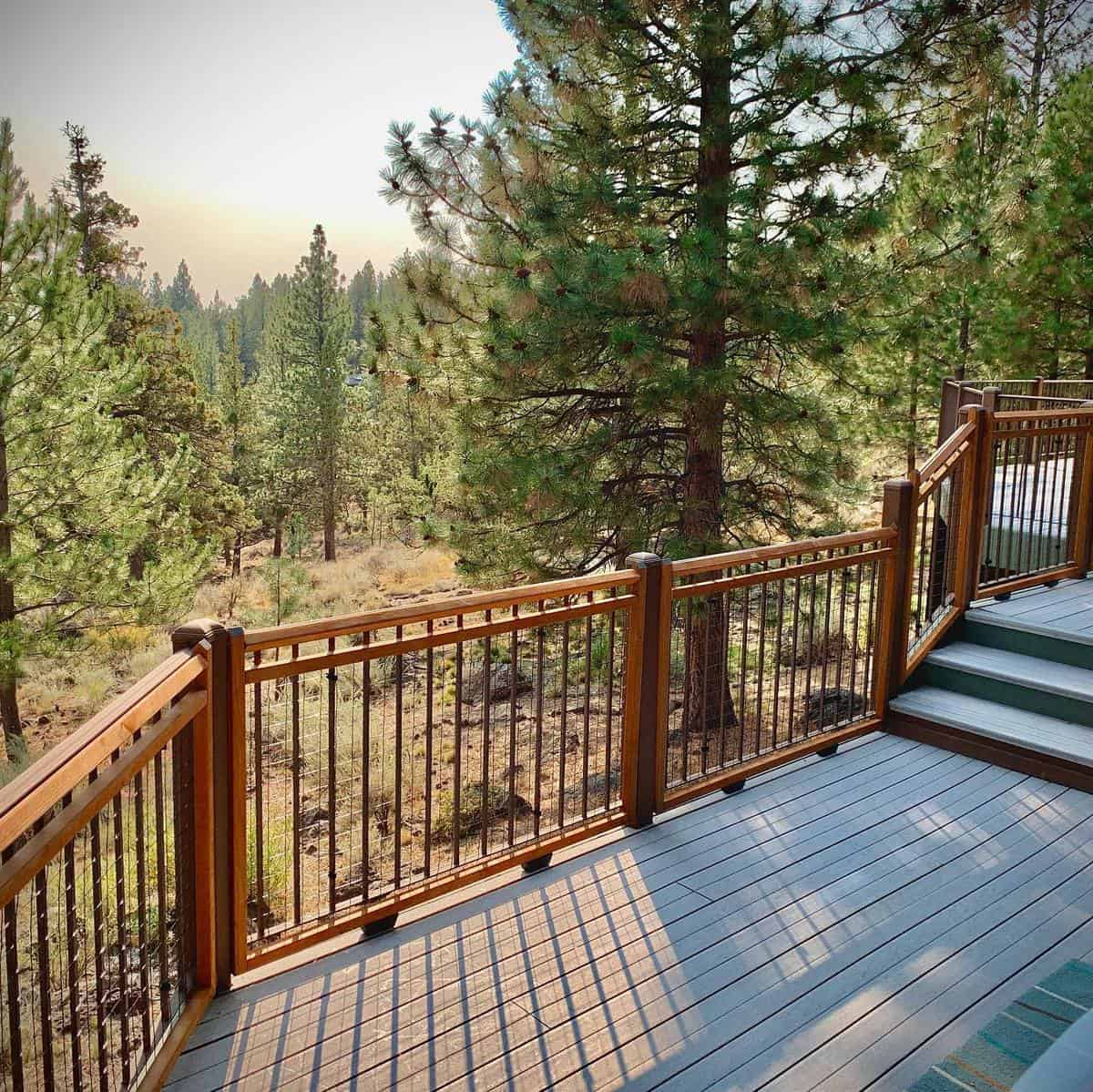 Two Tone Deck Color Ideas -elwingworks