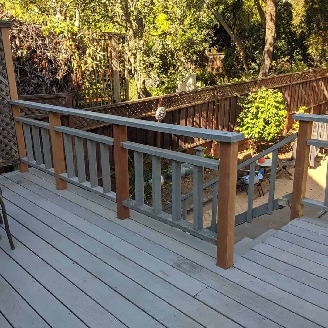 Two Tone Deck Color Ideas -mdrnhandyman
