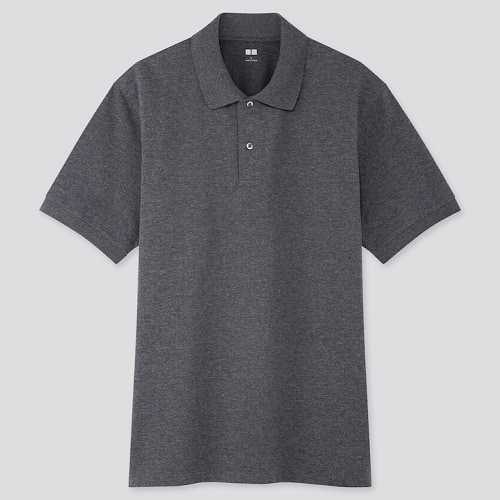 UNIQLO Dry Pique Short Sleeve Polo