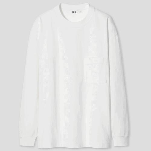 UNIQLO U Crew Neck Long-Sleeve T-Shirt