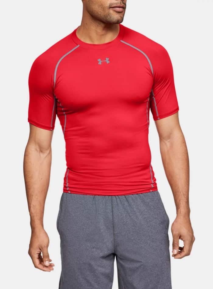 Under Armour HeatGeat Armour Short Sleeve Compression Shirt