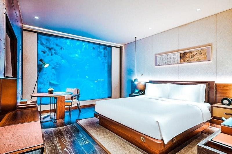 Underwater Hotel China's InterContinental Shanghai Wonderland