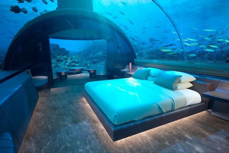 Underwater Hotel Conrad Maldives on Rangali Island