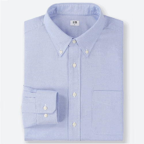 Uniqlo-Men-Oxford-Regular-Fit-Long-Sleeve-Shirt