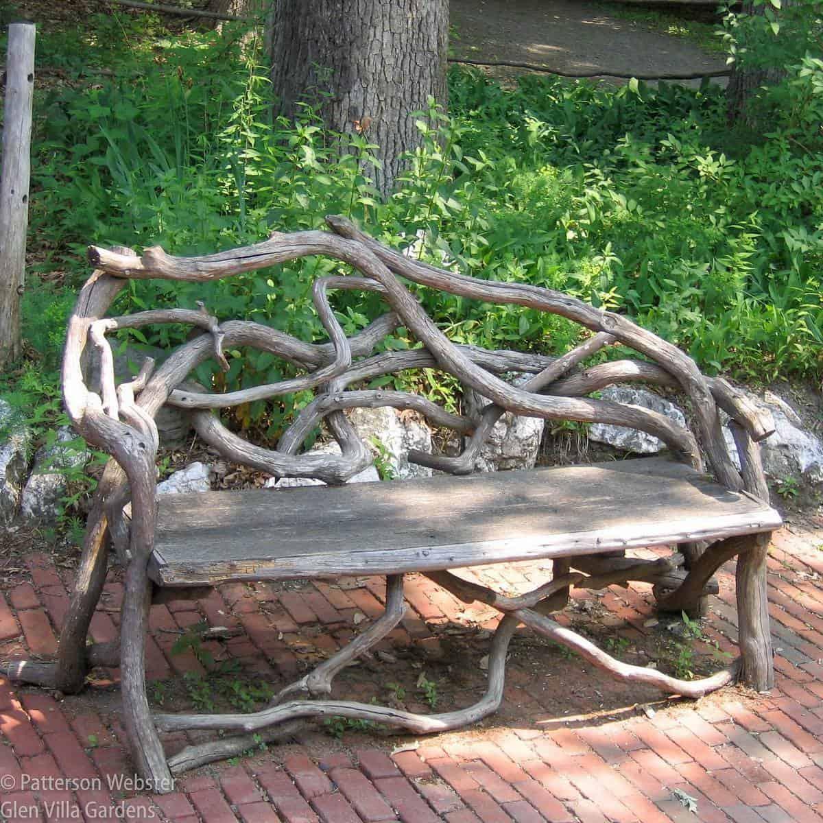 Unique Garden Bench Ideas -glen_villa_garden
