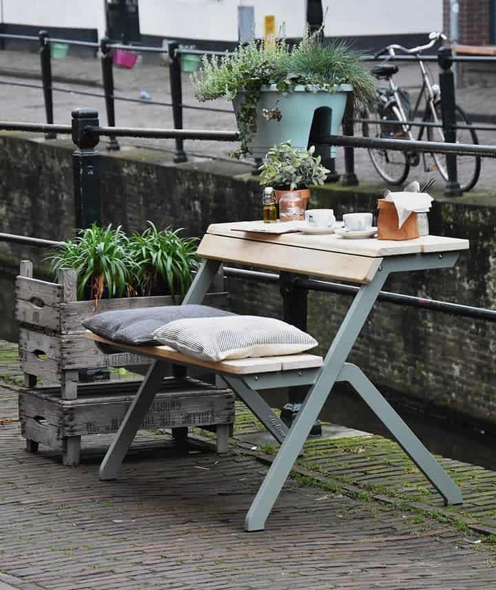 Unique Garden Bench Ideas -weltevree
