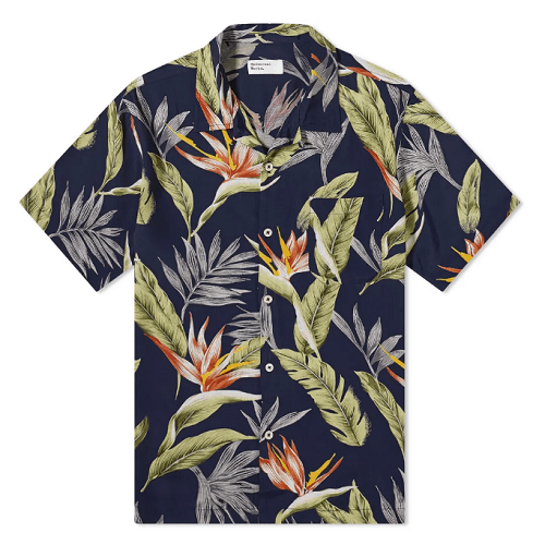 Universal Works Floral Print Road Shirt