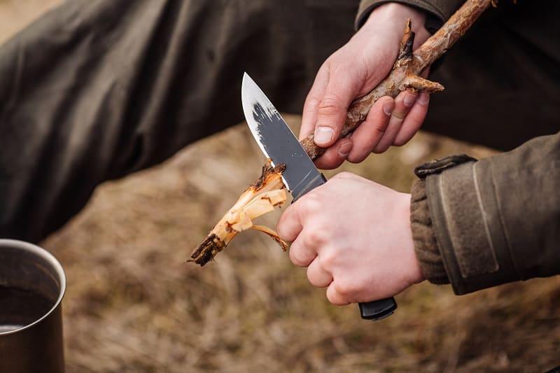 Use a Pocket Knife to Make a Cut Line