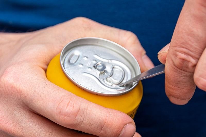 Use a Pocket Knife to Shotgun a Beer
