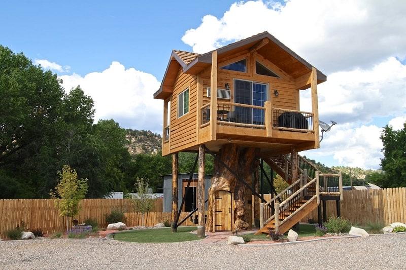 Utah treehouse