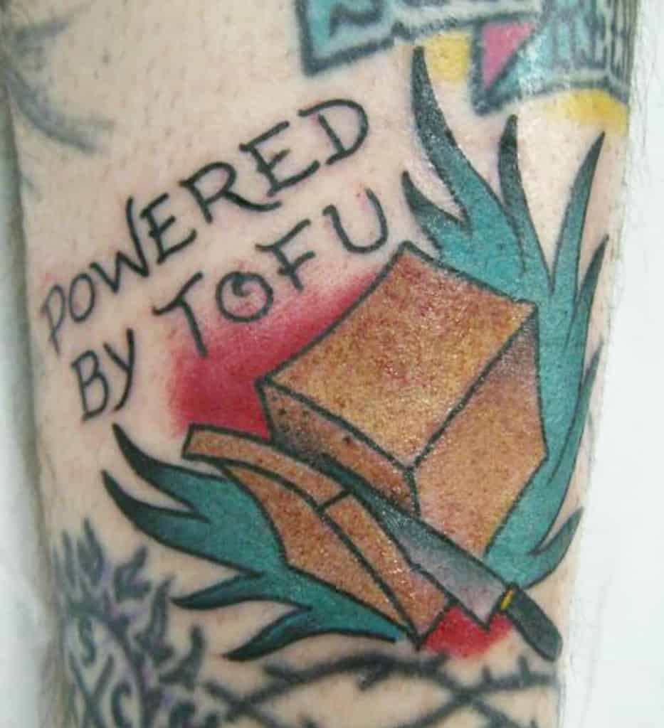 Vegan Straight Edge Tattoo Tete.tattooer