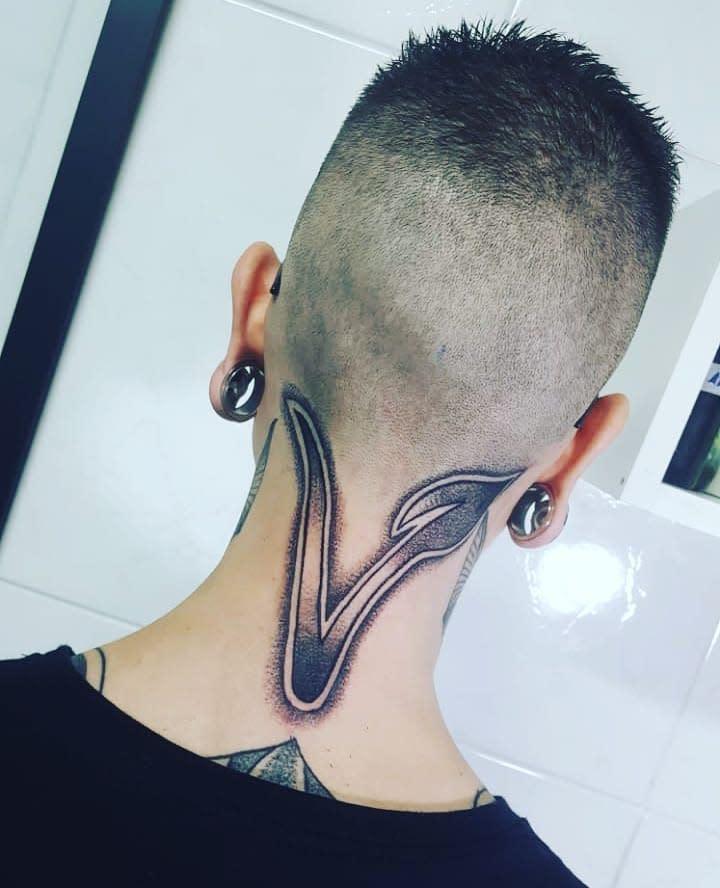 Symbol Vegan Tattoo -felippe_chagas_