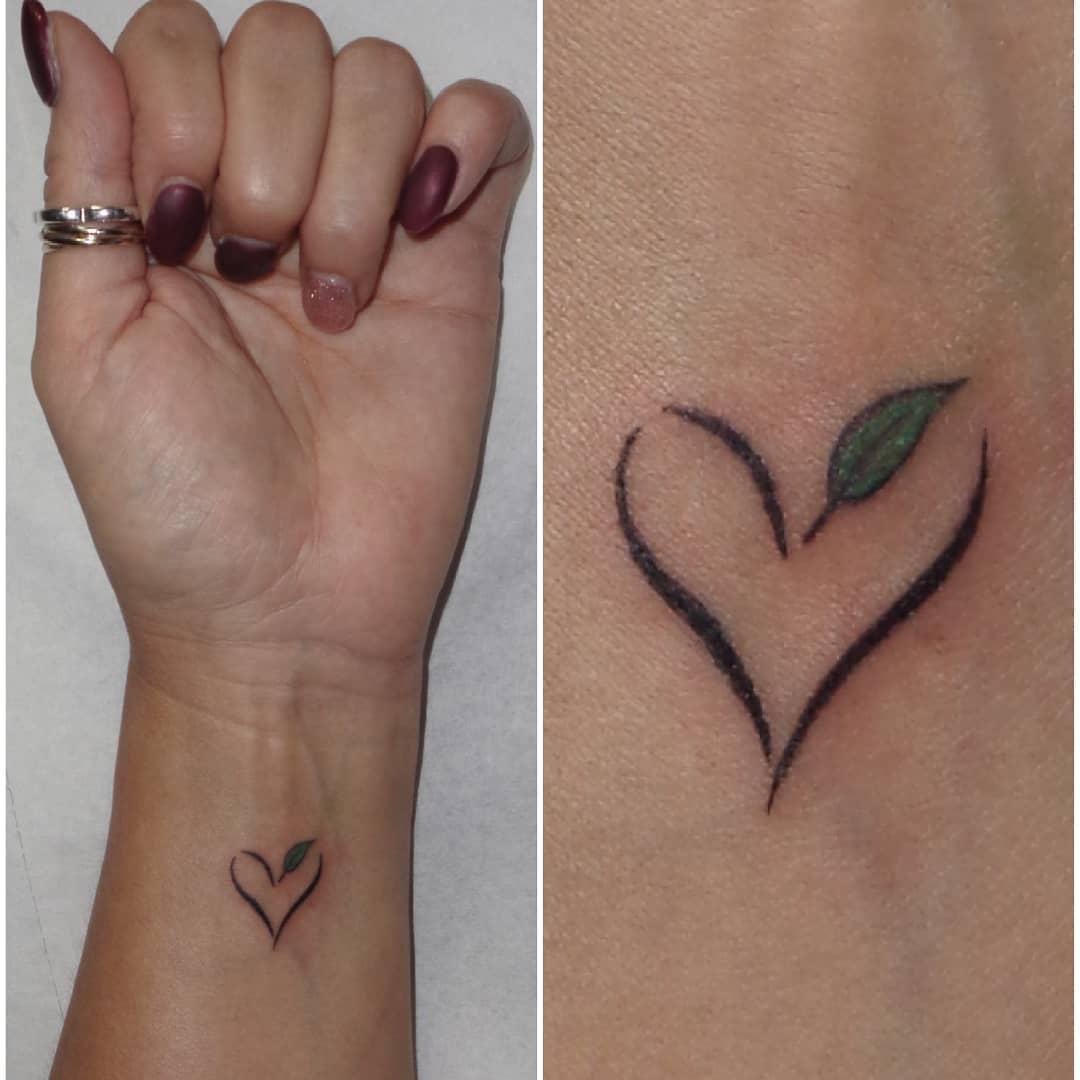 Handgelenk Vegan Tattoo -beautyclassics.elizabeth