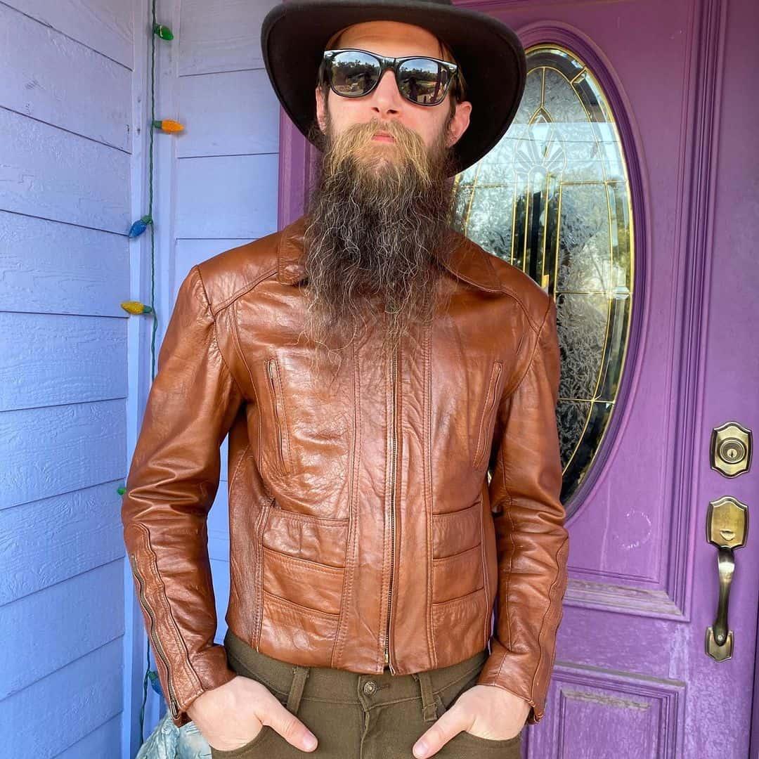 Vintage Leather Jacket Styles -themilkandhoneymoon