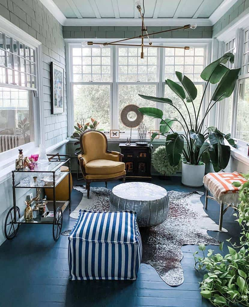 Vintage Sunroom Furniture Ideas thisoldhome1907