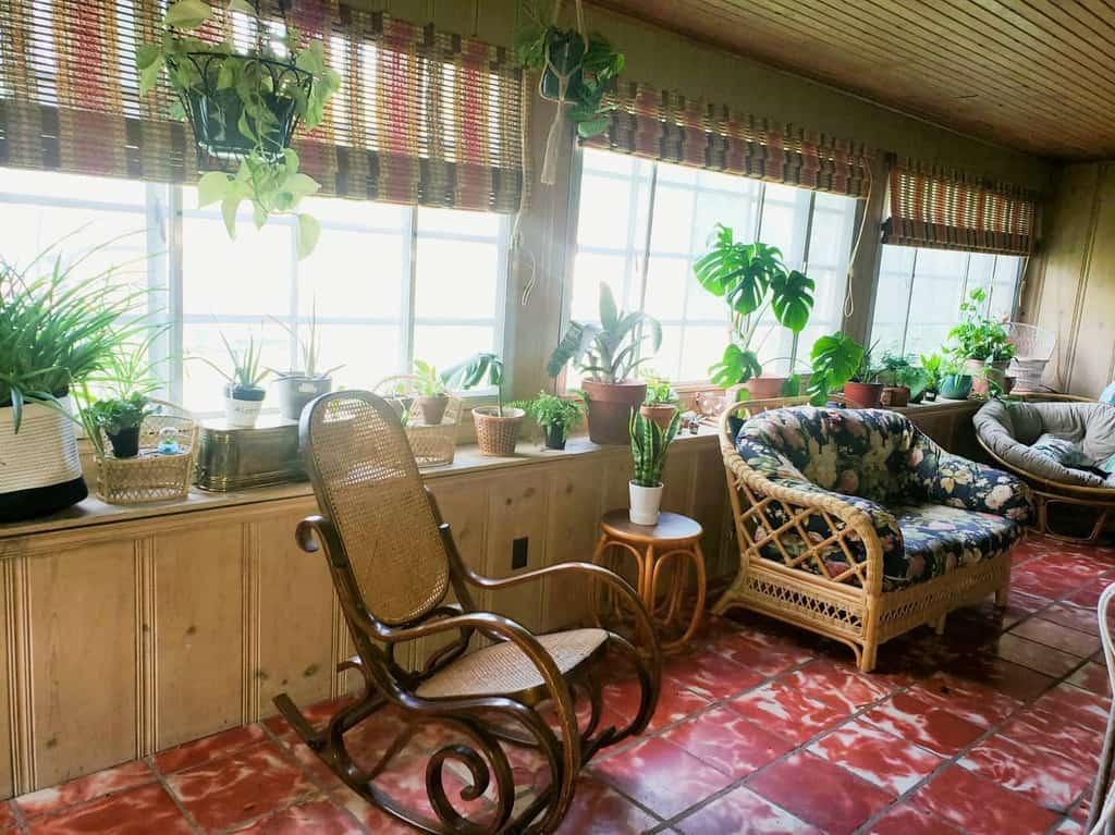 Vintage Sunroom Furniture Ideas thrift_inspired