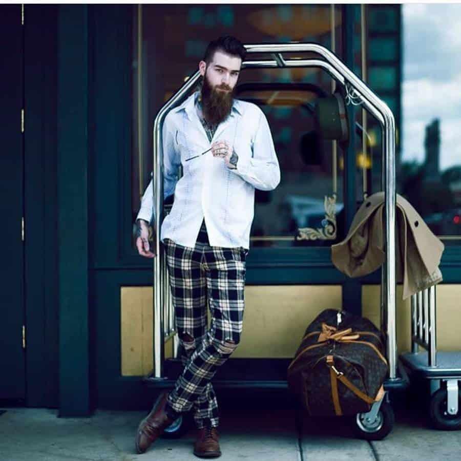 Vintage Hipster Outfit Rustyjamesman