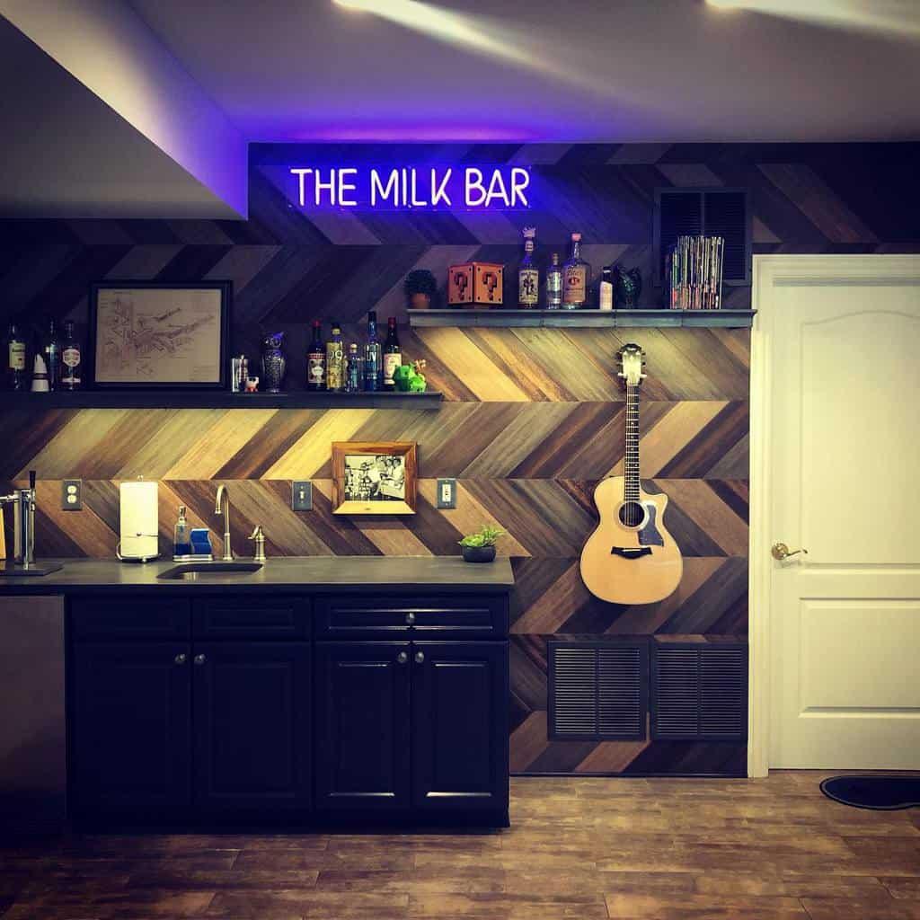 Wall Basement Bar Ideas j_stots