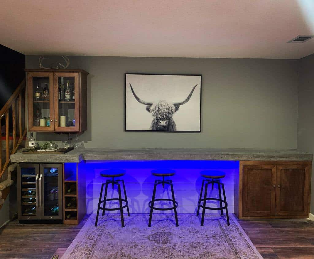 Wall Basement Bar Ideas justina_bella_art