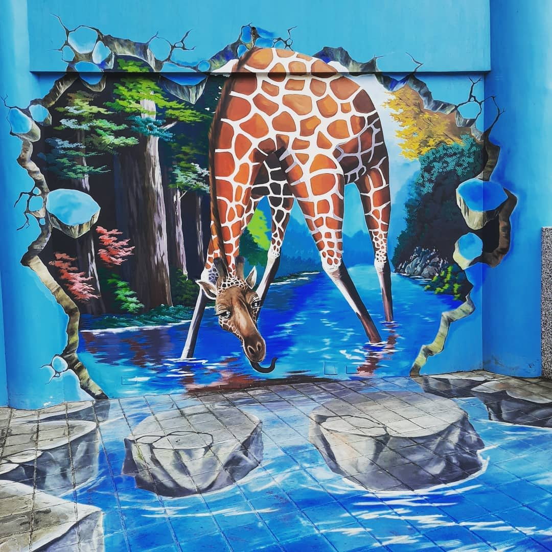 3D Wall Painting Ideas -monicaloveyou4ever