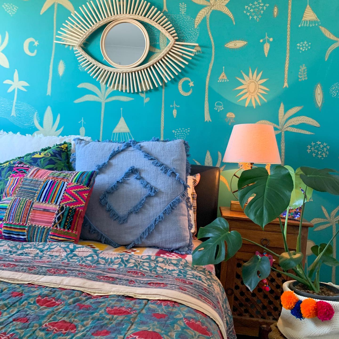 Bedroom Wall Painting Ideas -acolourfularthome