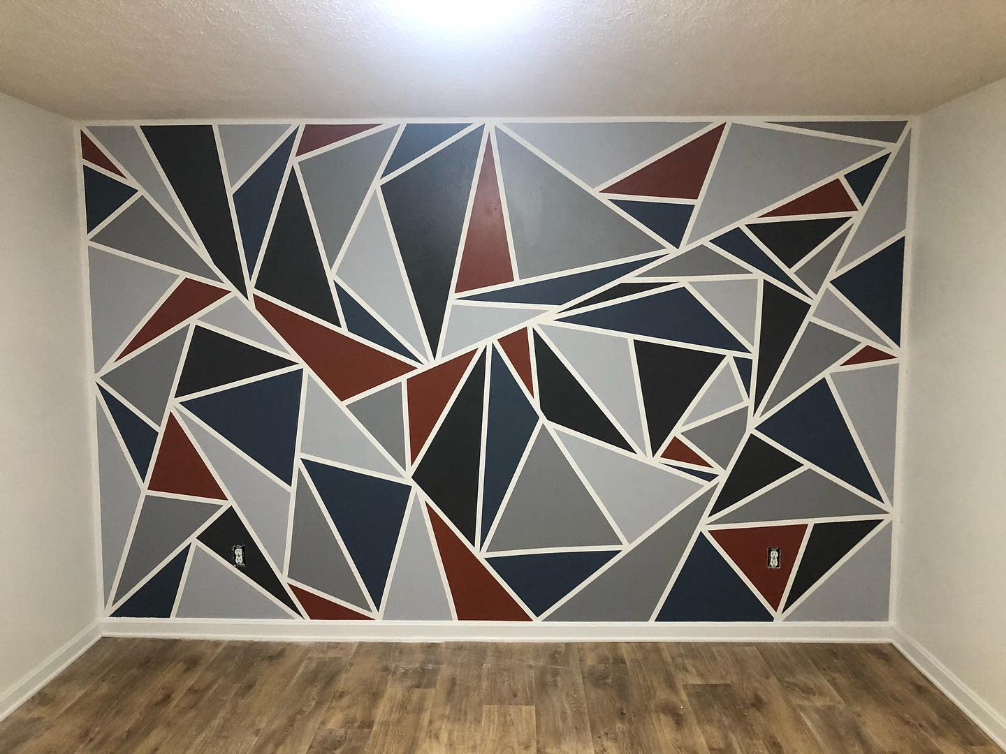 Geometric Wall Painting Ideas -dilan.arnold