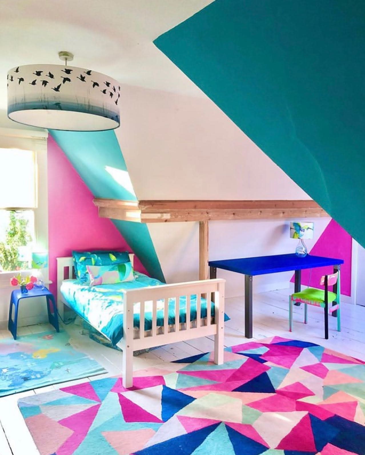 Girls Wall Painting Ideas -annalysejacobs