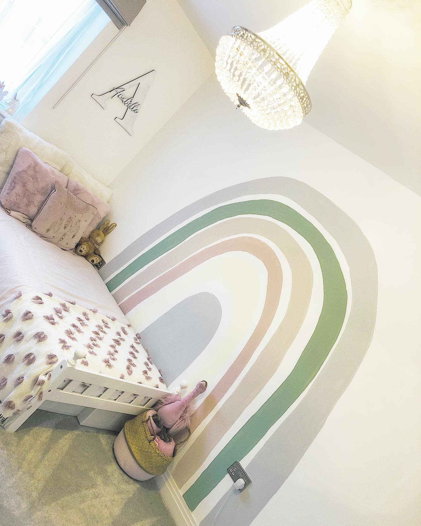 Girls Wall Painting Ideas -athomewith.1