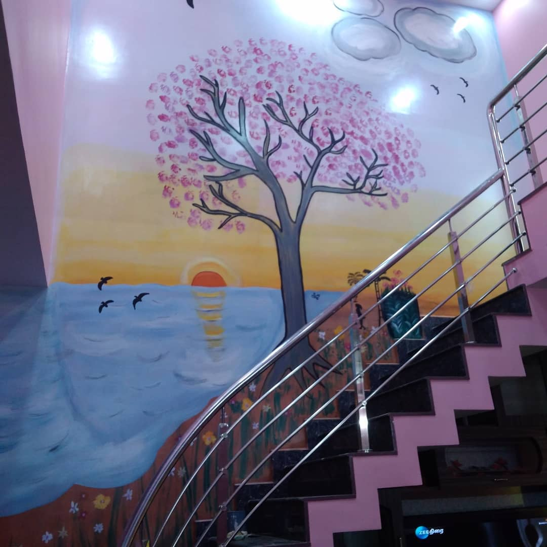 Tree Wall Painting Ideas -varathan_painting_contractor