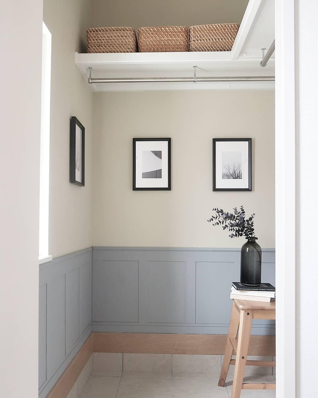 Two Toned Wall Painting Ideas -ie.no.koto