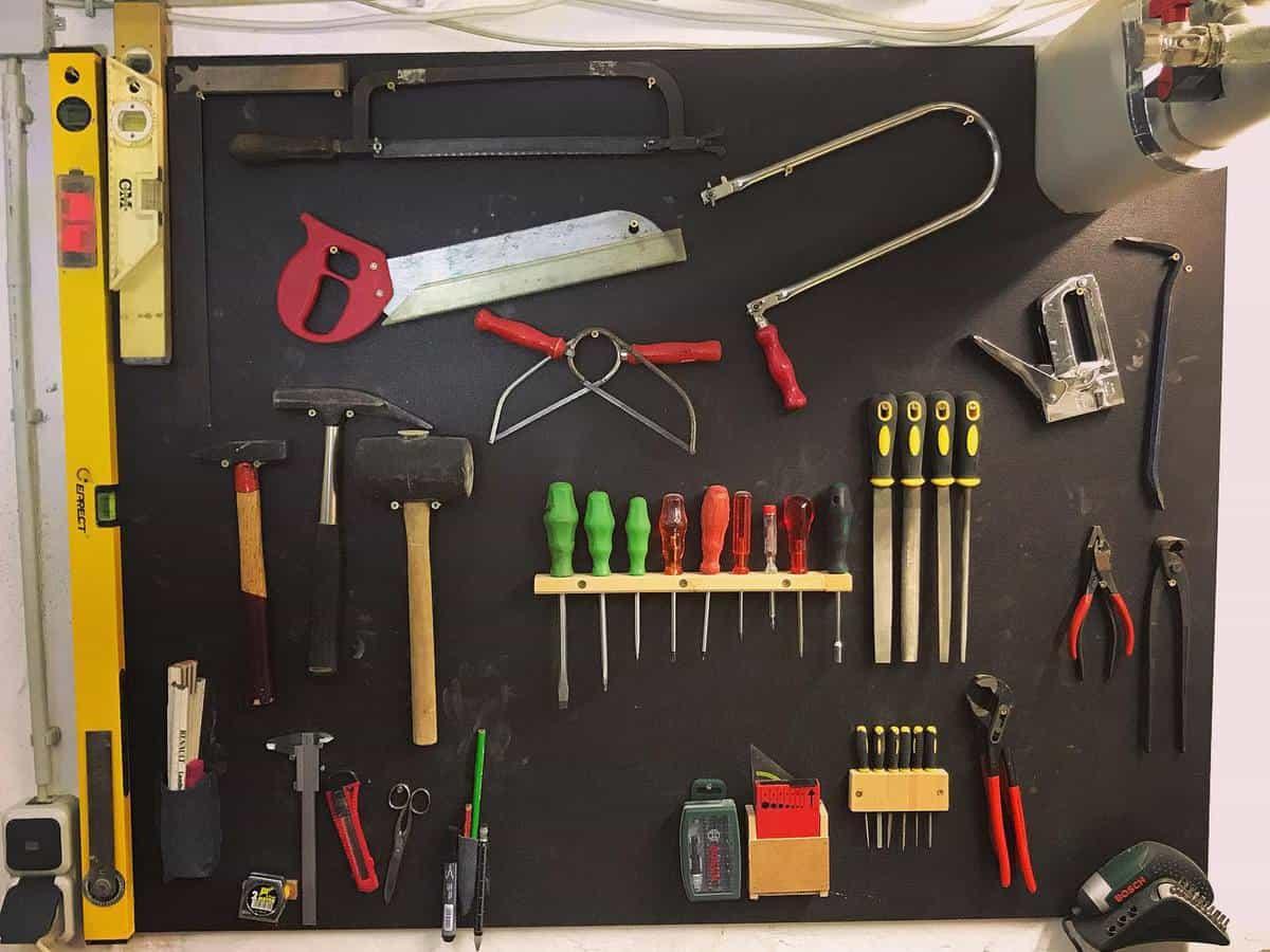 Wall Tool Storage Ideas -jonas_projects