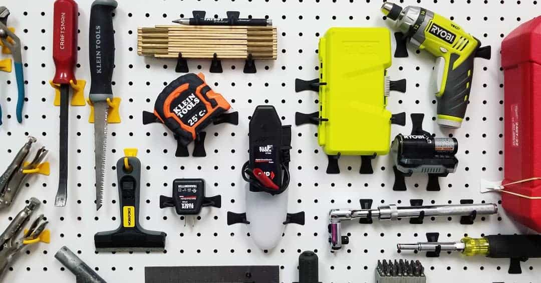 Wall Tool Storage Ideas -pegprohooks