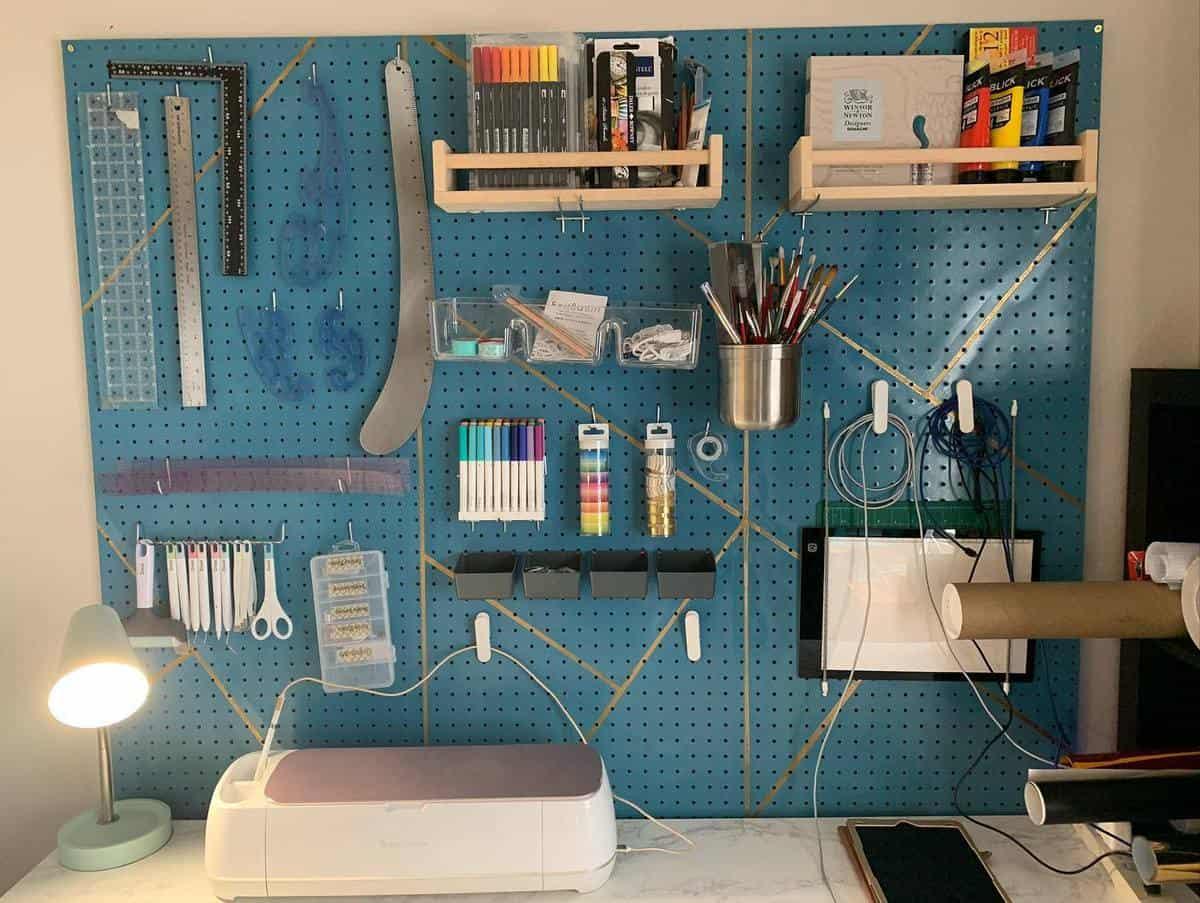 Wall Tool Storage Ideas -vkvcostumedesigner