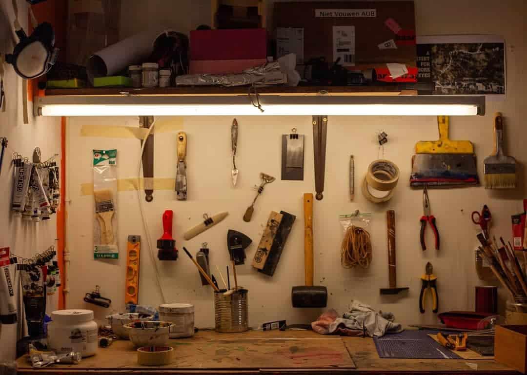 Wall Tool Storage Ideas -wannes.vanwijnsberghe