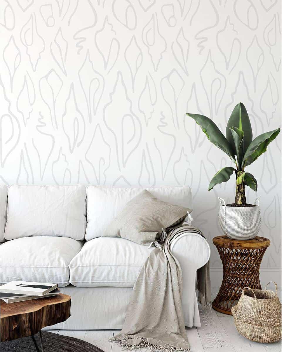 Wallpaper Temporary Wall Ideas -emilydawstextiles