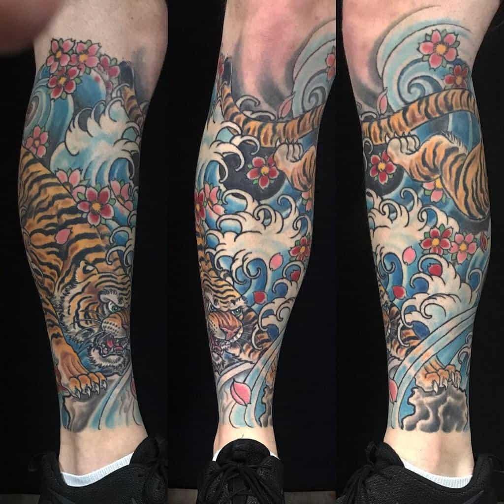 Water Tattoo Sleeve Filler shahnanderson