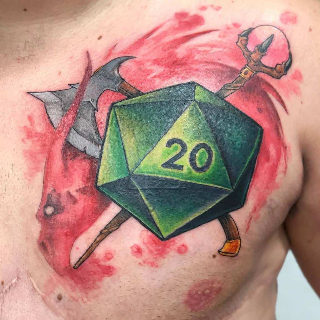 Weapons Dungeons And Dragons Tattoos Matthenegartattoo