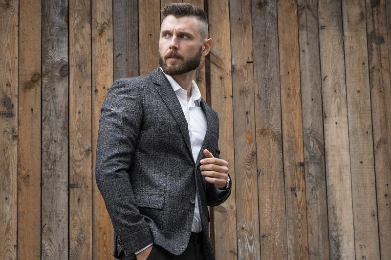 Bearded,Businessman,On,The,Street